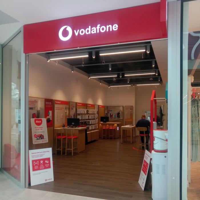Vodafone v novém