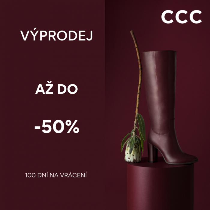 V CCC začíná zimní výprodej!