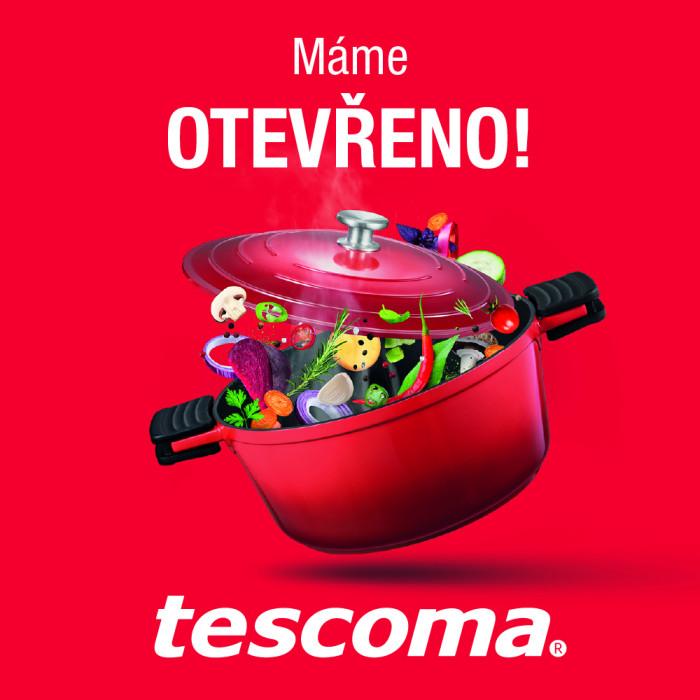 Tescoma má otevřeno