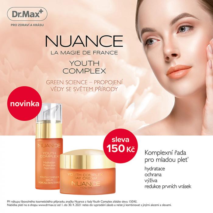 Dr.Max - novinky z kosmetiky řady Nuance