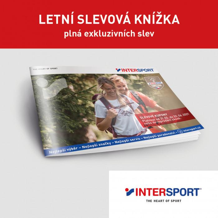 Letní slevová knížka k dostání na prodejnách Intersport