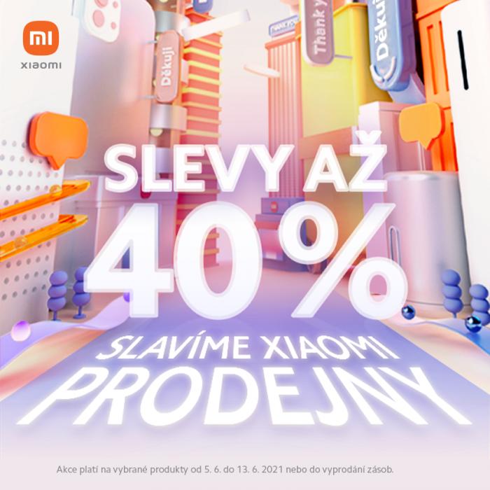 V prodejně Xiaomi se slaví! Přijďte si pro slevy až 40 %