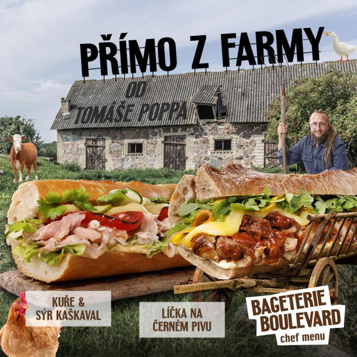 """Nové chef menu """"Přímo z farmy"""""""