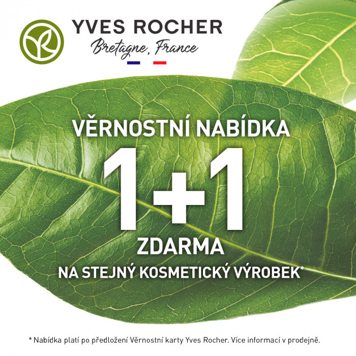 1+1 ZDARMA pro členy Klubu Yves Rocher